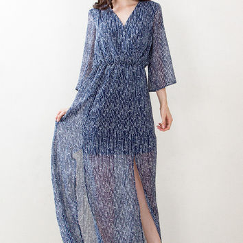 Take Me Somewhere New Maxi Dress