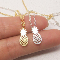 1 Piece Pineapple Necklace
