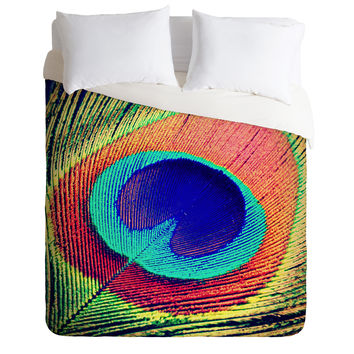 Shannon Clark The Eye Duvet Cover