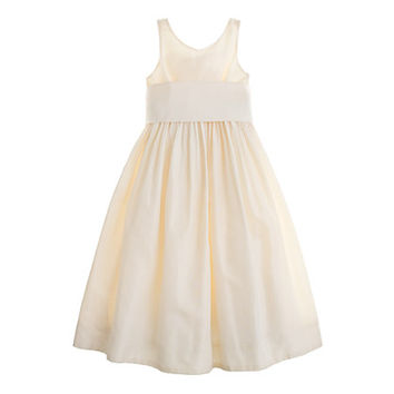 crewcuts Girls Avery Dress In Silk Taffeta