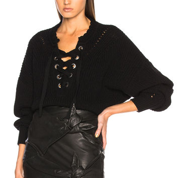Isabel Marant Laley Sweater in Black | FWRD