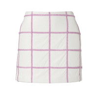 3.1 Phillip Lim - Wool Blend Plaid Mini-Skirt