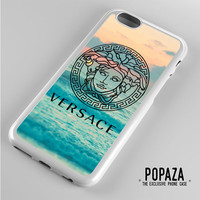 Versace logo beach iPhone 6 Case Cover