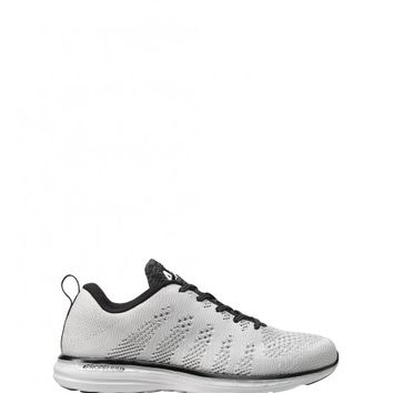 Techloom Pro Sneaker in White/Black/Cosmic Grey by APL | Shoes | BANDIER