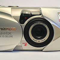 Olympus Stylus Epic ZOOM 115 Deluxe 35mm Point & Shoot Film Camera | eBay