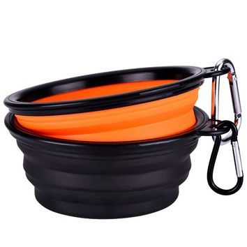 Collapsible Travel Silicone Bowl Set