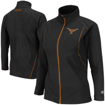 Texas Longhorns Ladies Pivot II Yoga Jacket - Black
