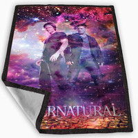 Supernatural galaxy nebula new custom Blanket for Kids Blanket, Fleece Blanket Cute and Awesome Blanket for your bedding, Blanket fleece *