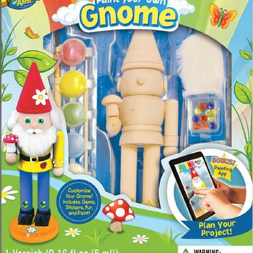Gnome - Wood Painting Kit