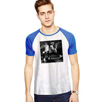 Niall Horan One Direction 1D Hot For Short Raglan Sleeves T-shirt, Red Tees, Black Tees, Blue Tees **
