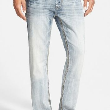 Men's Rock Revival Straight Leg Jeans ,