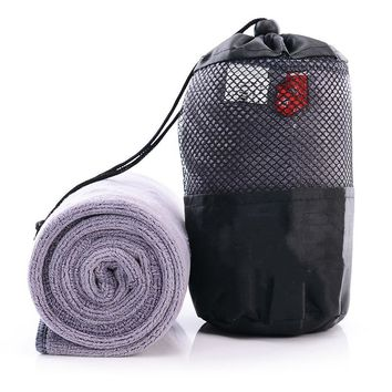 Fast Quick Drying Towel Microfiber Travel Towel Swimming Camping Microfiber Cloth with Mesh Bag Beach towels for Outdoor Sport