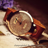 Sparkling Leather Watch for Women (WAT0031)
