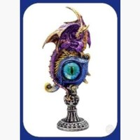 Evil Eye  Dragon Protector Statue