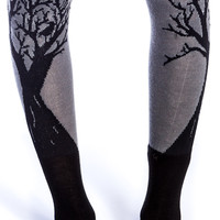 Too Fast WGGD Tree Rolled Socks