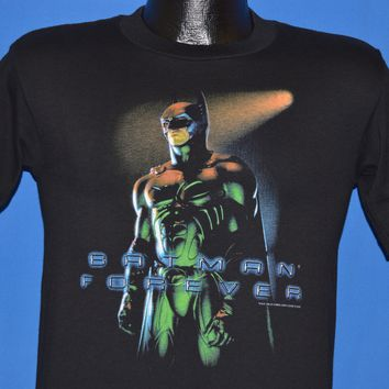90s Batman Forever 1995 Movie t-shirt Youth Large