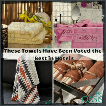 These Towels Have Been Voted the Best in Hotels