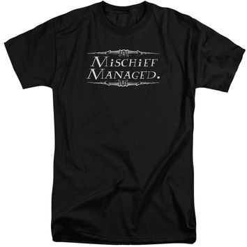 Harry Potter - Mischief Managed Short Sleeve Adult Tall Shirt Officially Licensed T-Shirt