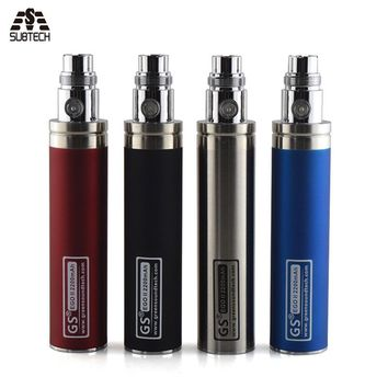 2017 edition GS eGo II Battery 2200mah E Cigarettes Updated EGO Battery For 510 CE4 MT3 Atomizer ecig Battery
