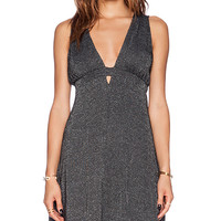Free People Dance of the Night Dress in Black