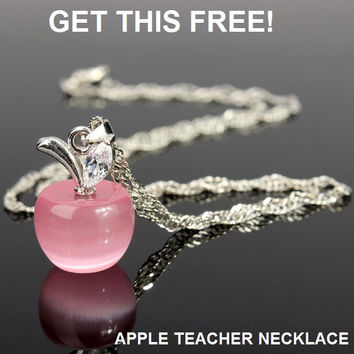 Limited Edition: New Apple Teachers Necklace
