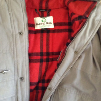 Pacific trail thick winter coat
