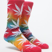 HUF Tie Dye Plantlife Crew Socks - Mens Socks