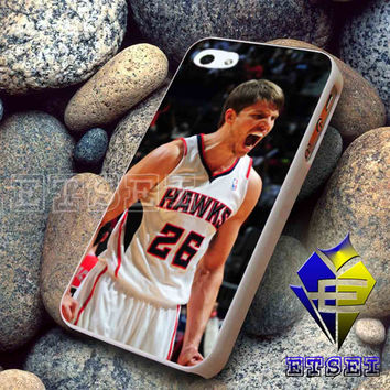 Atlanta Hawks kyle korver iPhone case,Samsung Galaxy case,iPod case,iPad case -- Hard Plastic and Rubber case -- BD