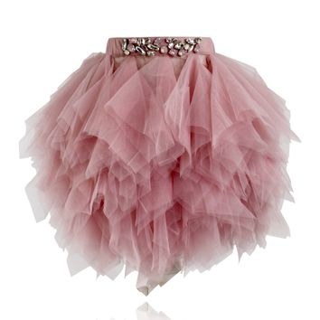 DOLLY by Le Petit Tom ® HANDKERCHIEF TUTU pink