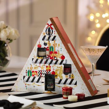 Yankee Candle Holiday Party Pyramid Advent Calendar
