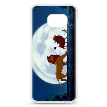 Simba Pumba And Timon Samsung Galaxy S7 Edge Case