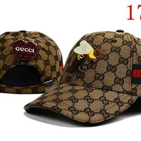 Gucci Bees Embroidered Hat Baseball Cap Hat