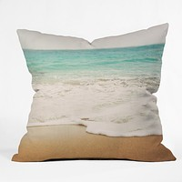 Bree Madden Ombre Beach Throw Pillow