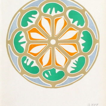 Verve - Rosace Collectable Print by Henri Matisse at Art.com