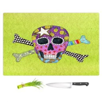 https://www.dianochedesigns.com/cuttingboard-marley-ungaro-skull-and-cross-bones-lime.html