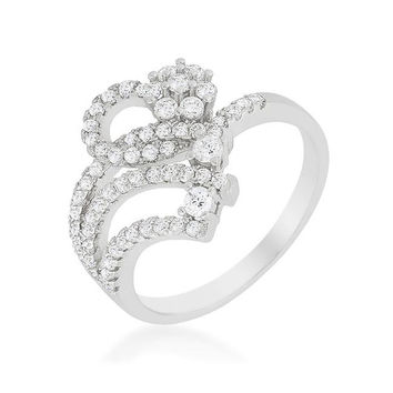 Floral Signature Ring, size : 07