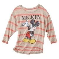 License Juniors Mickey Graphic Sweater