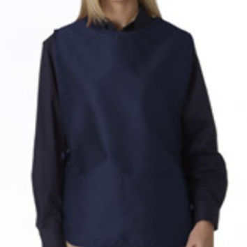 Ultraclub(R) Two-Pocket Cobbler Apron - Navy (One)