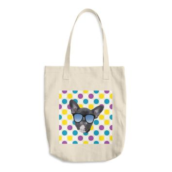 FRENCH BULLDOG COLOR SPOTS TRAVEL BAG