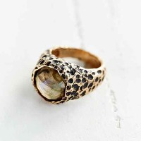 Souvenir Jewelry Moss Ring- Gold