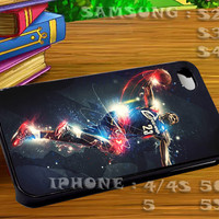 Lebron James Miami Heat NBA Playoffs King James For iphone 4 iphone 5 samsung galaxy s4 / s3 / s2 Case Or Cover Phone.