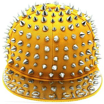 Snap Back Studs & Spikes Cap
