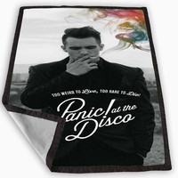 panic at the disco band cover album design Blanket for Kids Blanket, Fleece Blanket Cute and Awesome Blanket for your bedding, Blanket fleece *