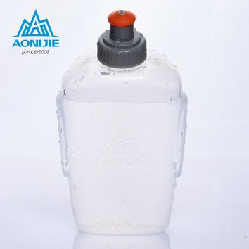 170/250ml Sports Water Bottle Outdoor Running Fitness Marathon Soft Waterbag Bike Accessories Cycling Hiking Riding Water Bottle