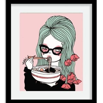 Udon Know Me Print