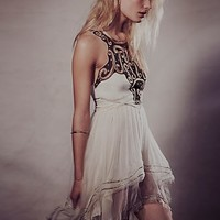 Free People Womens Filagree Fantasy Dress