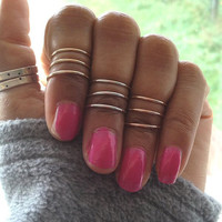 Rose Gold Sterling Silver Gold Spiral Midi Ring UK Shop valentines gift