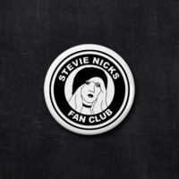 Stevie Nicks fan club button