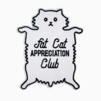 Fat Cat Appreciation Club Patch