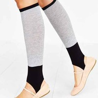 Stirrup Knee-High Sock- Grey One